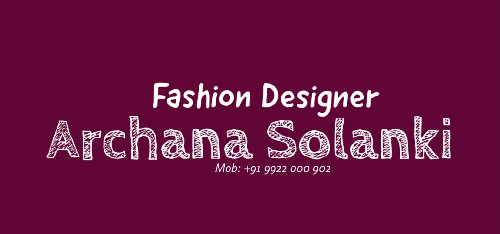 Logo Fashion Designer Archana Solanki