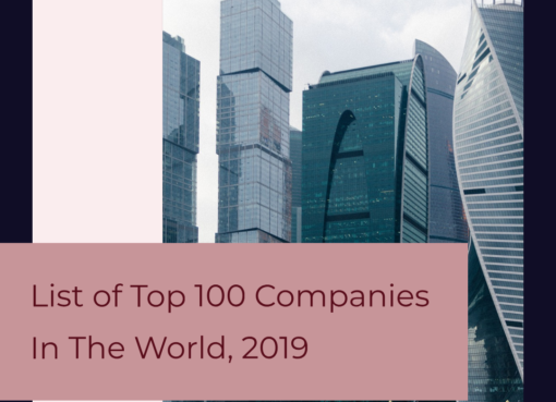 List of Top 100 Companies In The World, 2019