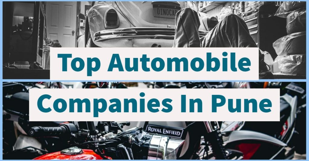 Automobile Companies In Pune